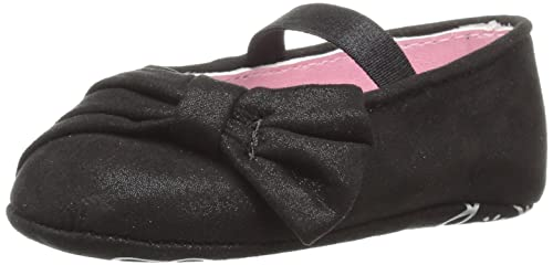 990b80f9c00 Jessica Simpson Girls  Cece Ballet Flat Black Microsuede 2 M US Infant