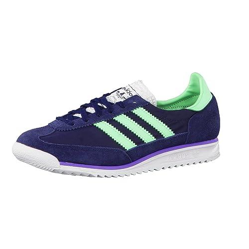 Zapatillas adidas - Sl 72 Azul Navy/Verde/Morado 40 2/3: Amazon.es: Zapatos y complementos