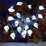 Lamp string TAOtTAO LED Halloween Kreative DIY Skelett Kopf Dekoration Atmosphäre Lampe