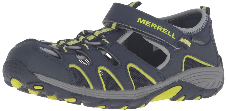 Merrell ML-B H2O Hiker, Chaussures Chaussures Hiker, Multisport Outdoor Mixte enfant 27 large EU|Bleu 392992