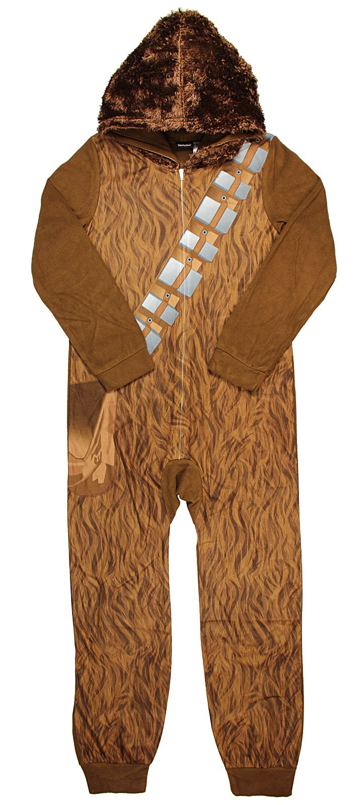 Boy's Star Wars Chewbacca Hooded Sleeper Pajama (X-Small 4/5)