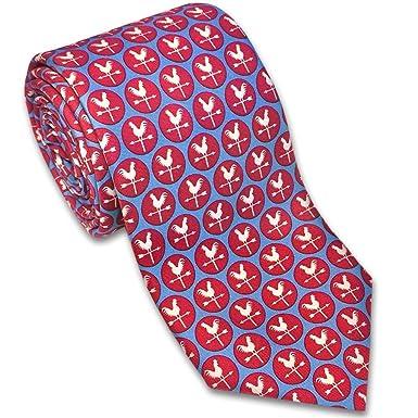 Josh Bach - Corbata de seda para hombre, diseño de vela, color ...