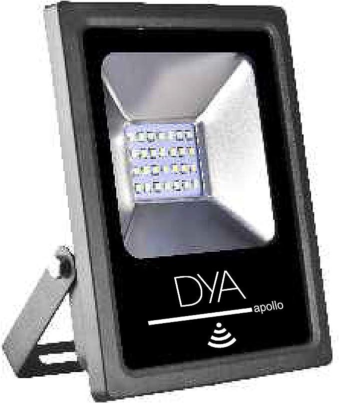 2835 50w BIANCO CALDO FARO LED DA ESTERNI FLOOD LIGHT LUCE IMPERMEABILE IP65