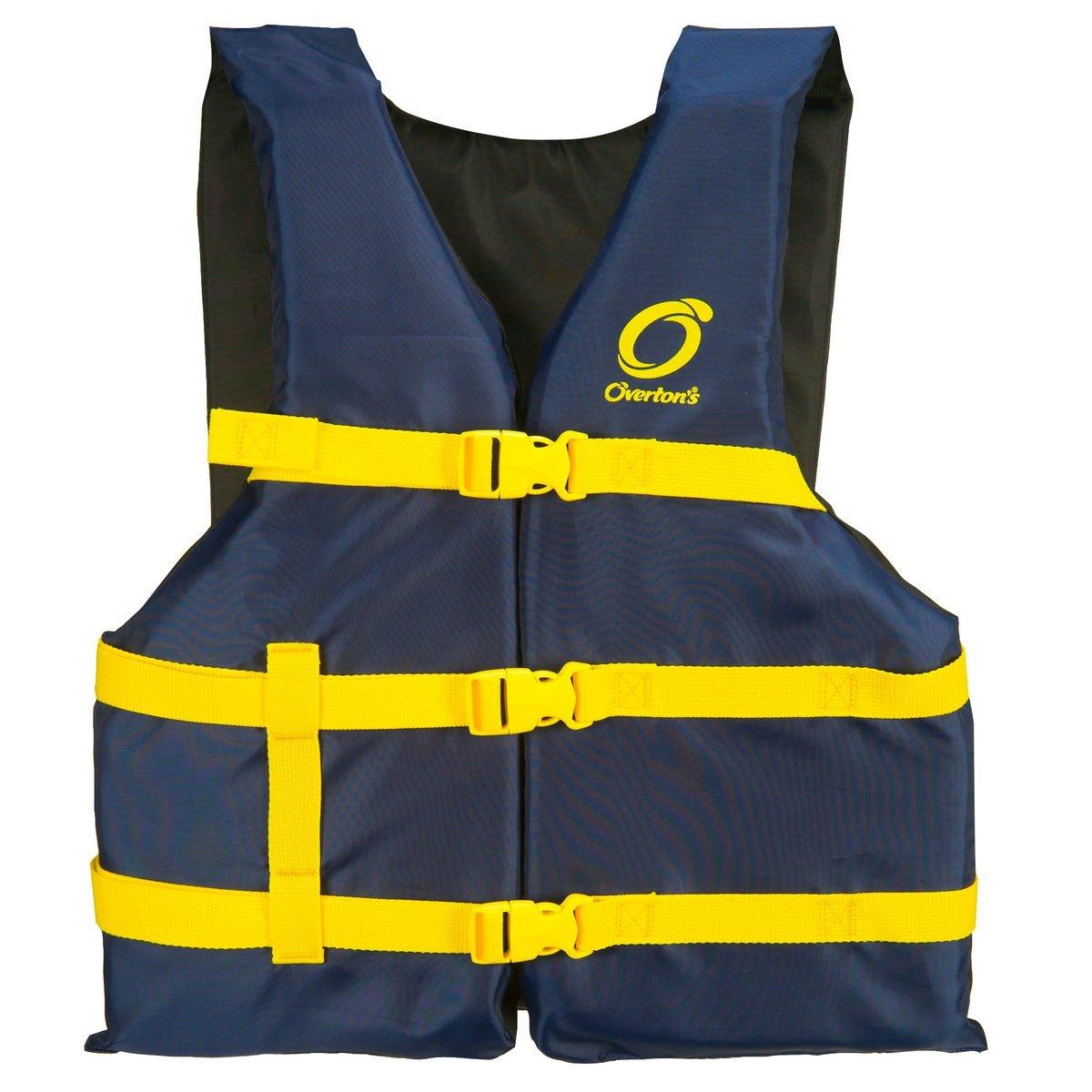 Blue Life Jacket Vests for Boating Universal 4 Pack Unisex