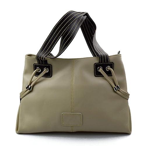 Borsa da spalla pelle donna borsa pelle a spalla borsa a tracolla beige  borsa vera pelle b96d785038e