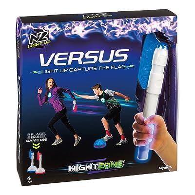 Toysmith Nightzone Capture The Flag Game, Multi, Model:56378: Toys & Games