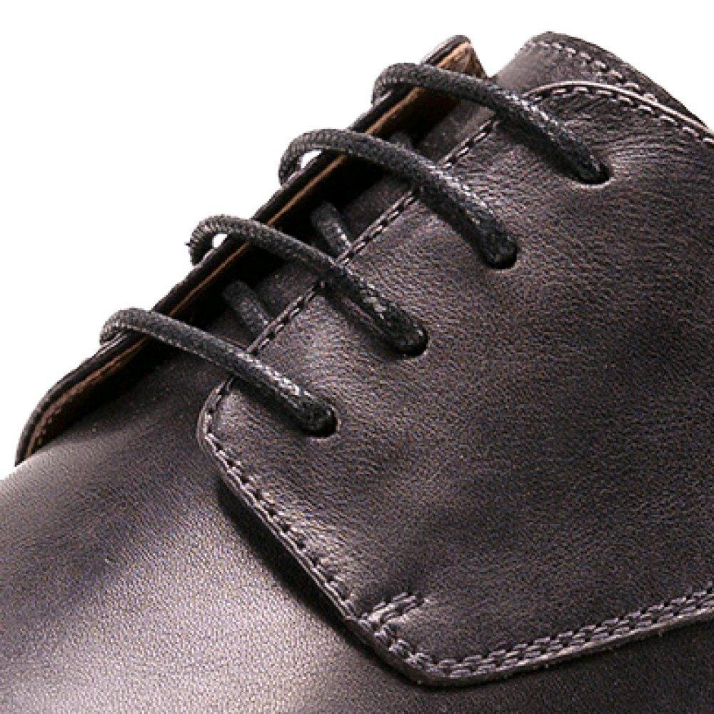 ZPEDY Farbe Original Britisch Retro Handarbeit Farbe ZPEDY Geschäft Lässig Formelle Kleidung Lederschuhe Derby Schuhe Coffeecolor 659191