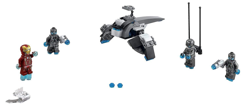 LEGO Superheroes Iron Man vs. Ultron: Amazon.es: Juguetes y juegos