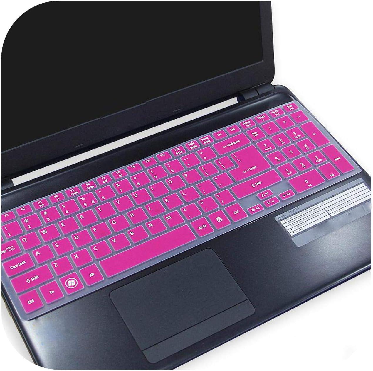 for Acer Aspire V5-561 V5-561Pg V5-561G V5-561P E5-731 E5-771 E5-771G V3-731 V3-731G 15.6 17.3 Keyboard Cover Protector Skin-Rose-