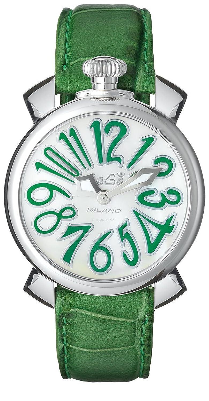 GAGA MILANO 5020.12 MANUALE 40MM ガガミラノ 腕時計 レザーベルト [並行輸入品] B01JRGFKTS