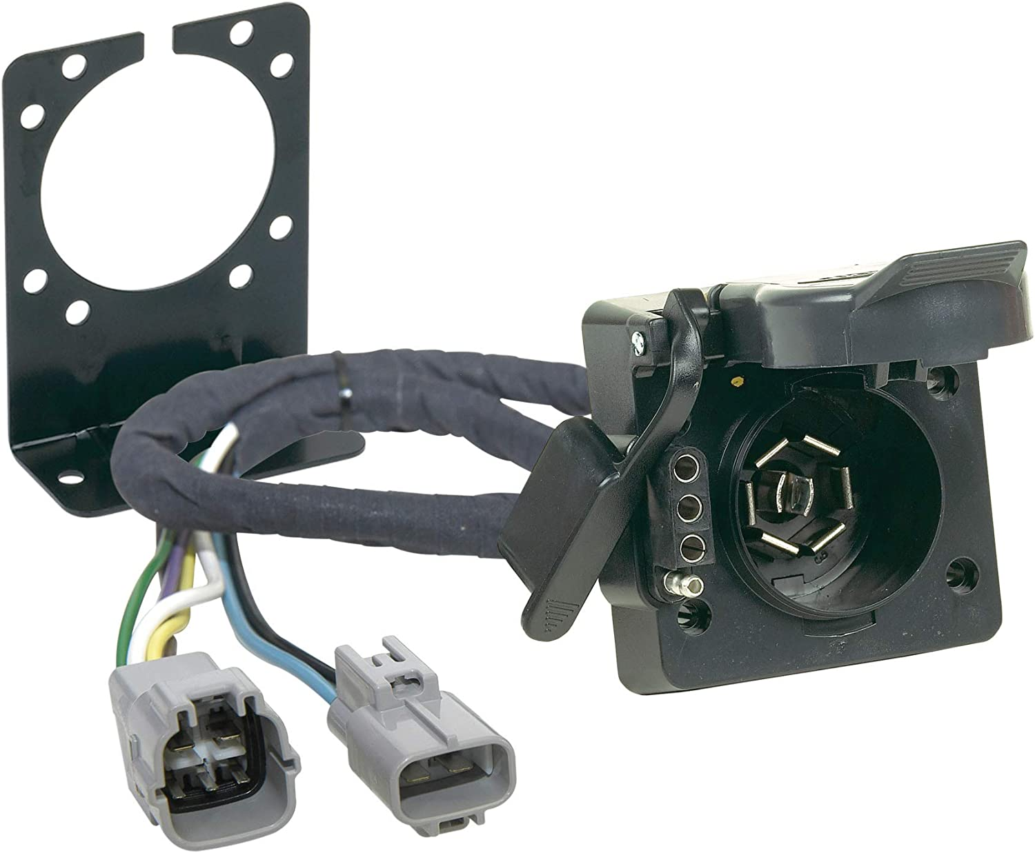 2008 tundra wiring harness amazon com hopkins 43395 plug in simple vehicle to trailer wiring  hopkins 43395 plug in simple vehicle