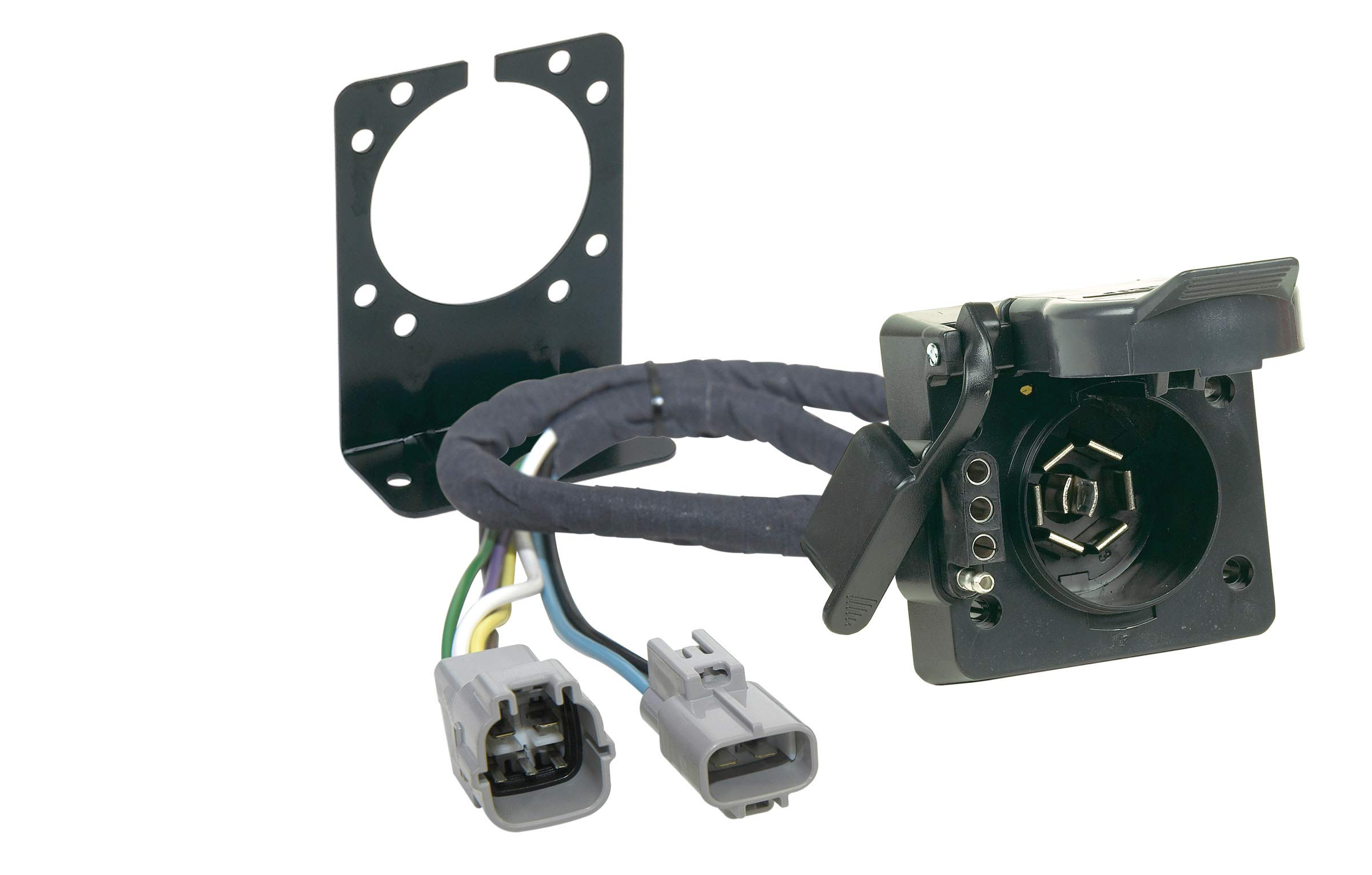 hopkins 11143395 plug-in simple vehicle to trailer wiring kit, wiring -  amazon canada