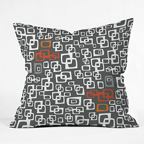 Deny Designs Jane Kathryn Kolles 90-Degree Throw Pillow, 6 by 6-Inch