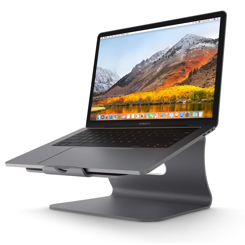Bestand TI-Station Soporte, Laptop Stand de refrigeración, Soporte diseñado para Apple MacBook