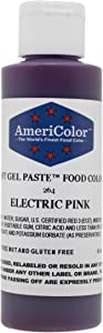 Americolor Soft Gel Paste Food Color, 4.5-Ounce, Electric Pink