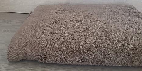 Ajuar Rizo - Toalla Sabana 600 gr. 100% algodón peinado color visón 100x150 cm