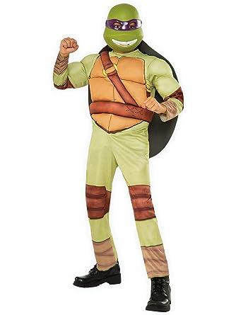 Nickelodeon Boys Donatello Teenage Mutant Ninja Turtles Costume Medium 8 10