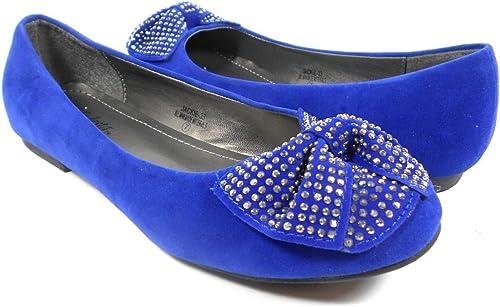 Modesta New Ladies Royal Blue Suede