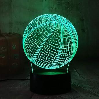 Ilusión óptica de la lámpara visual de wangZJ 3d / luz de la noche ...