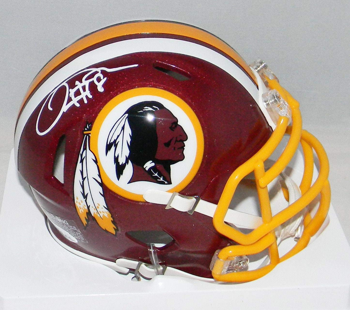 443f2af50a4 Amazon.com  Josh Doctson Signed Mini Helmet - Speed - JSA Certified - Autographed  NFL Mini Helmets  Sports Collectibles