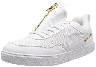 Versace Jeans Shoes, Sneaker Uomo, (Bianco Ottico 003), 41 ...