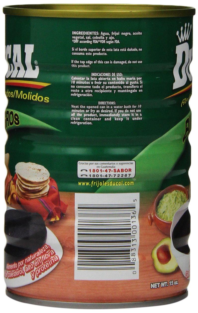 Amazon.com : Goya Ducal Refried Black Beans, 15 oz : Black Beans Produce : Grocery & Gourmet Food