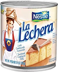 Nestle La Lechera Sweetened Condensed Milk, 14-ounce Cans (Pack of 2)