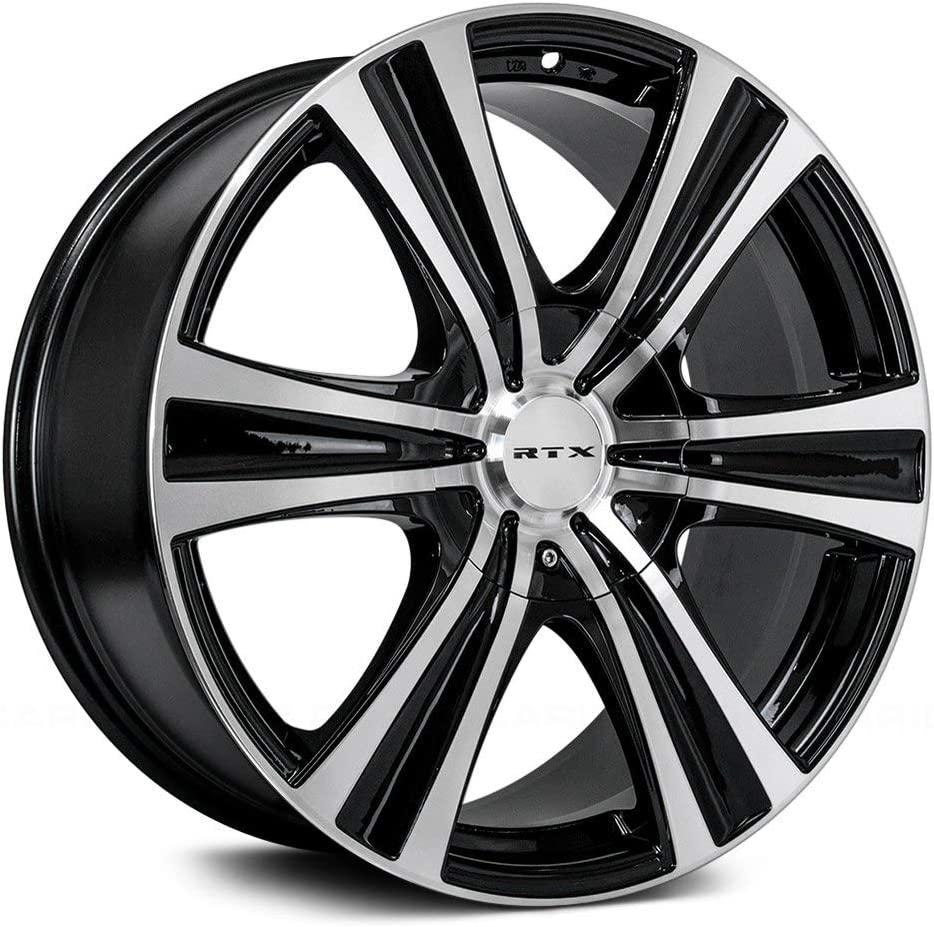 18X8 Black MACHINED 081830 73.1 RTX Aspen 5X114.3//127 35
