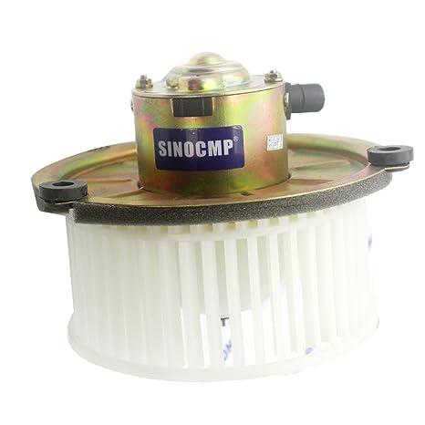 sinocmp 24 V aire acondicionado ventilador motor para Hitachi excavadora piezas