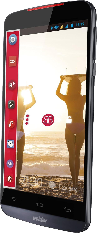 Wolder miSmart WAVE8 - Smartphone Libre de 5