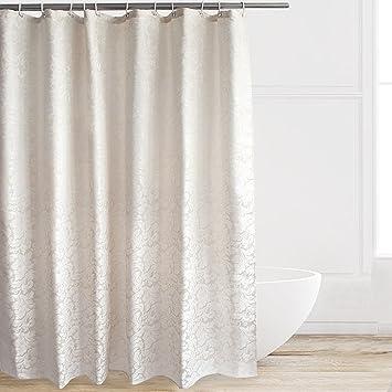 Amazon.com: Eforcurtain Elegant Hotel Stylish Microfiber Shower ...