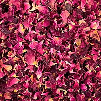 1L Rose Petal Confetti - Burgundy by Stripey Finds: Amazon.es ...