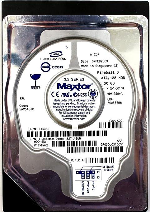 DELL 30GB ATA//133 MAXTOR HDD