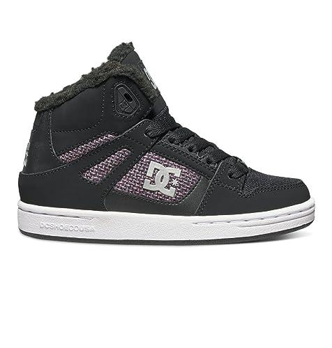 63dd58b71c DC Rebound Wnt High Top Sneaker (Little Kid/Big Kid)