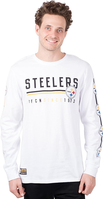 Ultra Game NFL Men's Active Basic Long Sleeve Tee Shirt