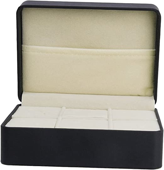 ma-on Gemelos de piel sintética caja de almacenamiento pantalla de ...