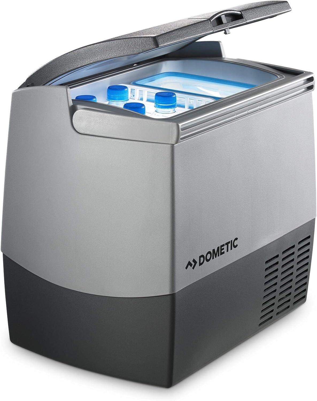 Dometic Coolfreeze CDF 18 - Nevera de compresor portátil, conexiones 12 / 24 V, enfriamiento de +10ºC a -18ºC, 18 litros