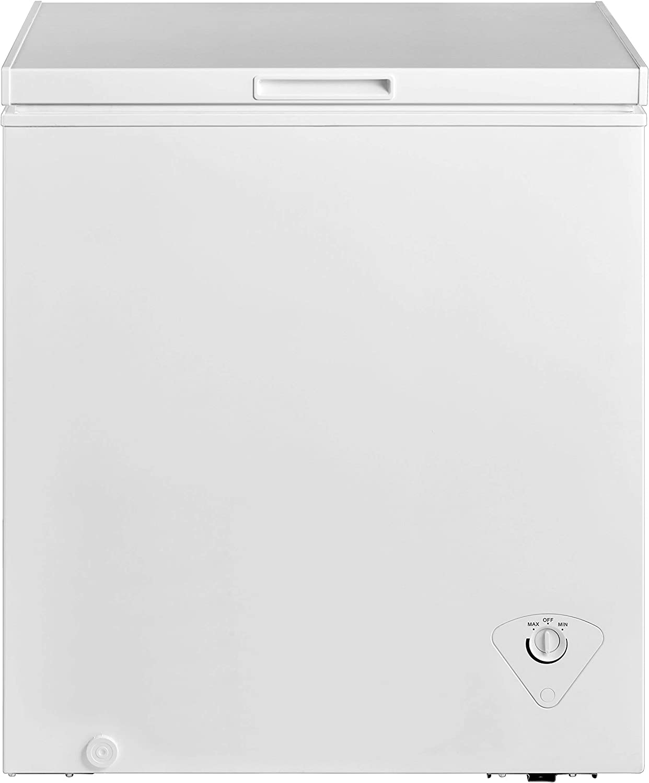 midea MRC050S0AWW Chest Freezer, 5.0 Cubic Feet, White (Renewed)