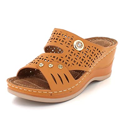 Hausschuhe Frau Damen Offener Zeh Beiläufig Komfort Leicht Einfach zu tragen Sommer Eben Schlüpfen Sandale Schuhe Größe Schuhe & Handtaschen