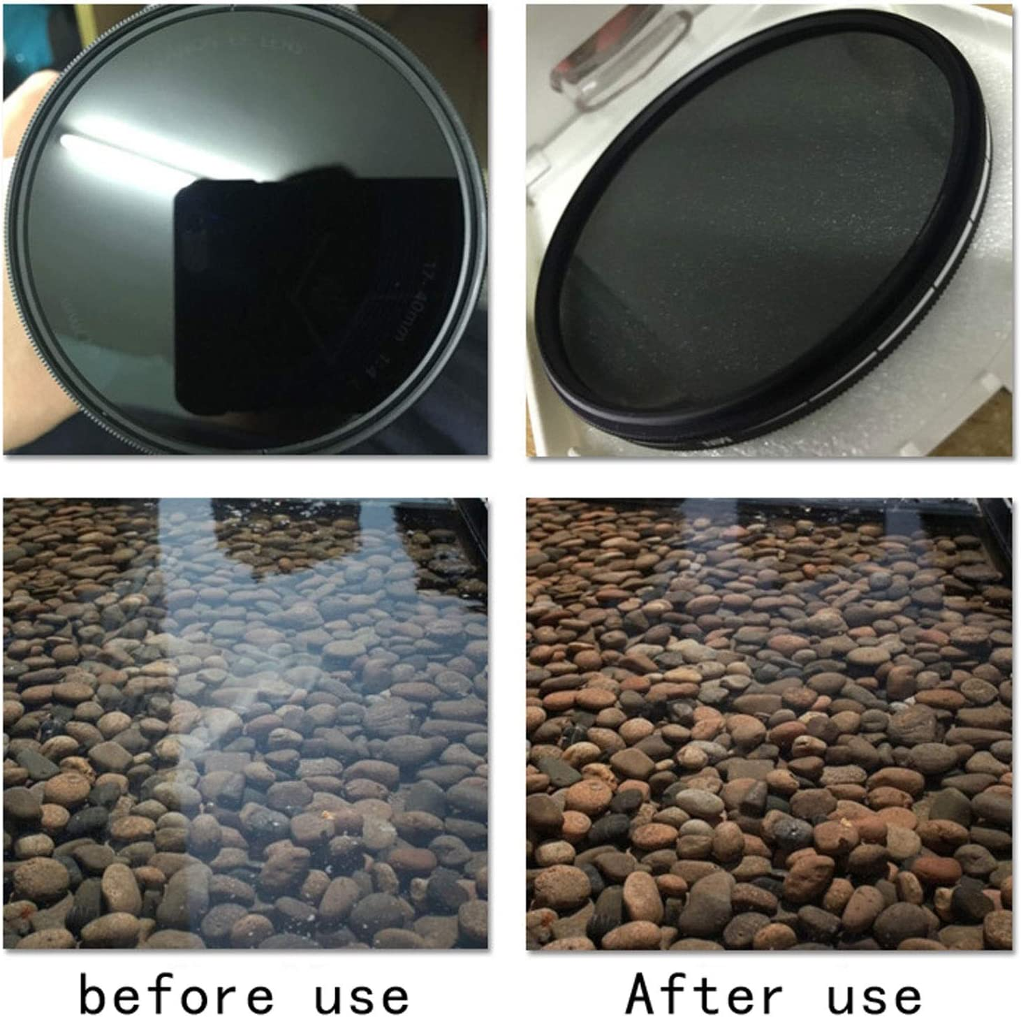 Size : 67mm Wangclj Filter Lens Polarization Filter Ultra-Thin CLEARPRO-CPL Ultra-Thin HD Rubber