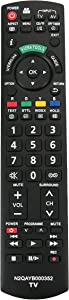 New N2QAYB000352 Replace Remote fit for Panasonic Plasma TV TH-P50X14A TH-P42X10A TH-P42S10A TH-P46S10A TH-P50S10A TH-L42S10A TH-P42G10A TH-P46G10A TH-P50G10A TH-L37S10A TH-L32X10A TH-P54S10A