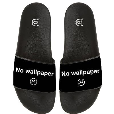 No Wallpaper Lightly Women Men Slide Slippers Non-slip Home Floor Slipper Beach Sandal Indoor Outdoor