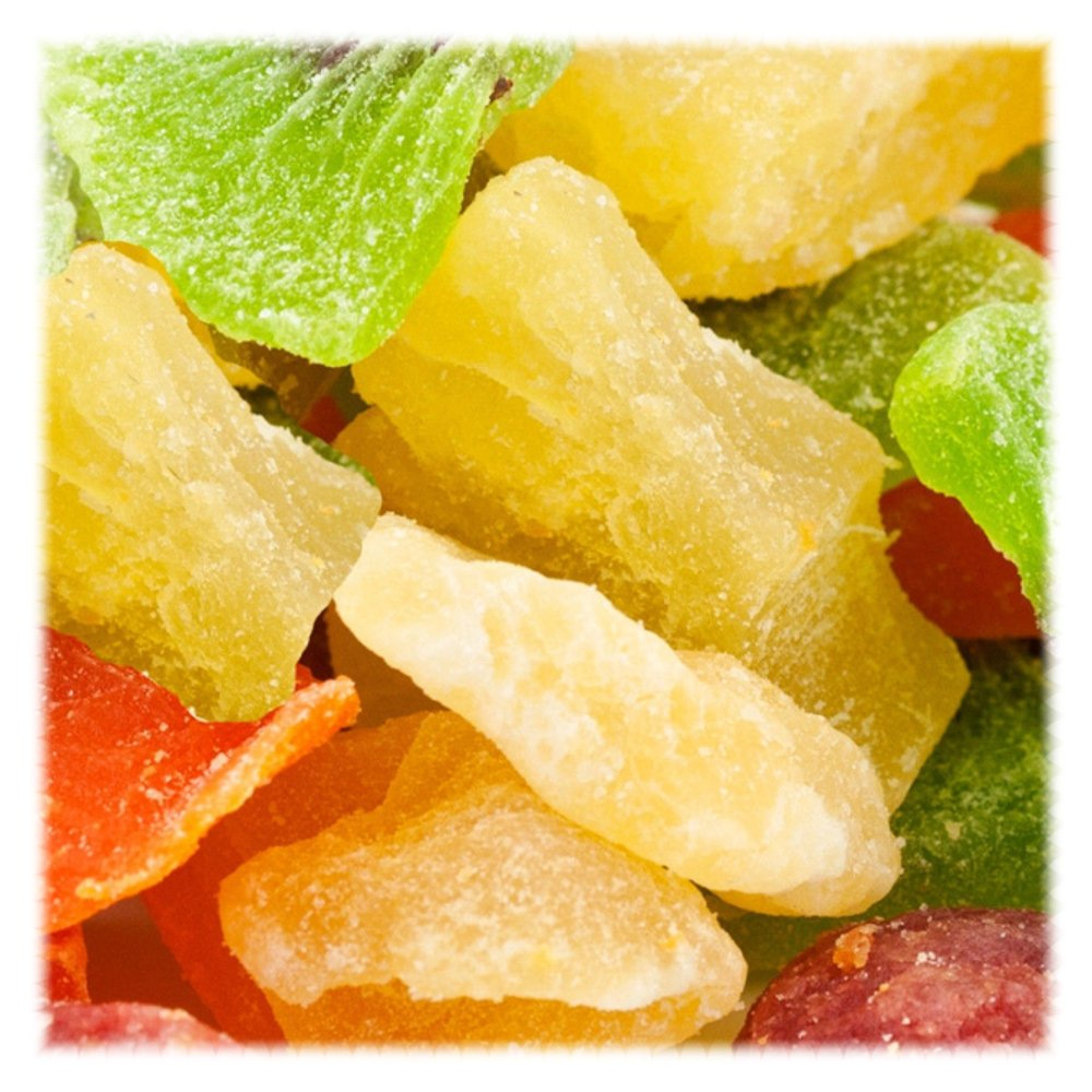 Tropical Fruit Salad / Dried Fruit - 4 lbs
