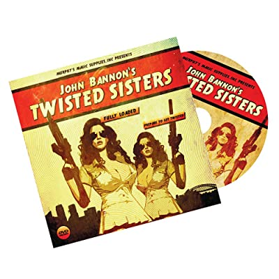 Murphy's Magic Twisted Sisters 2.0 (DVD and Gimmick) by John Bannon - Trick: Toys & Games