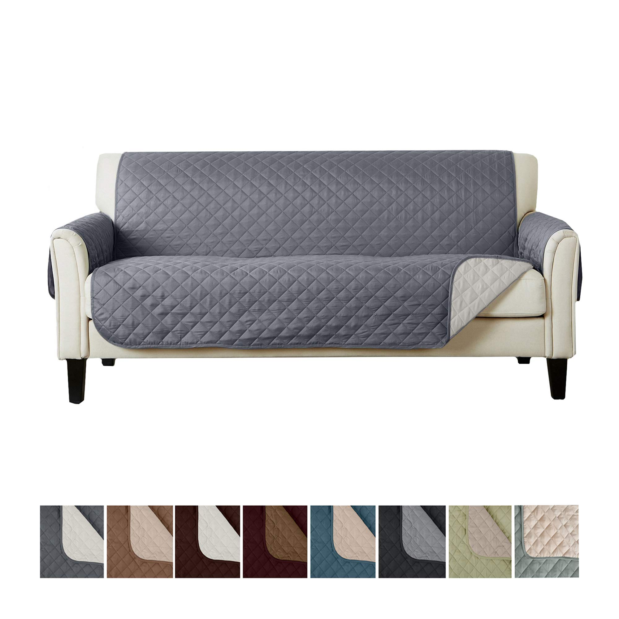 Home Fashion Designs Reversible Sofa Protector. Furniture