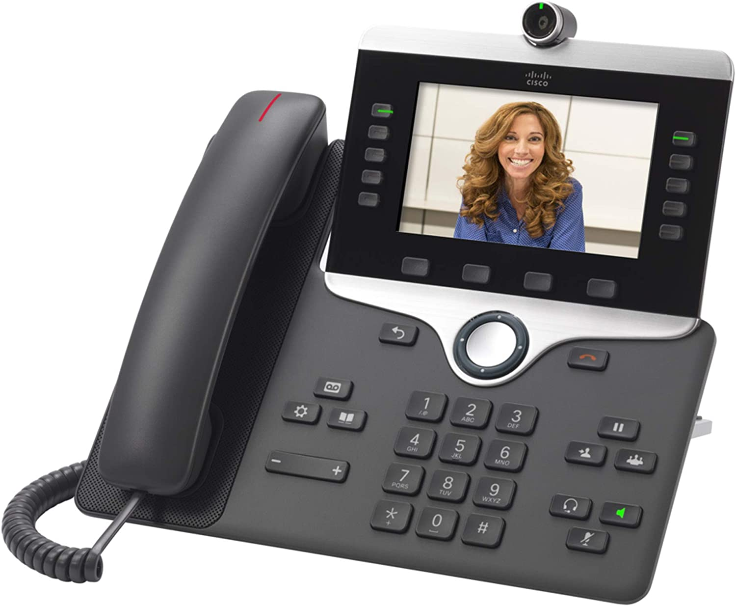 Cisco 8800 Ser CP-8865-K9 Unified IP Endpoint VoIP Video Phone w Camera /& Stand