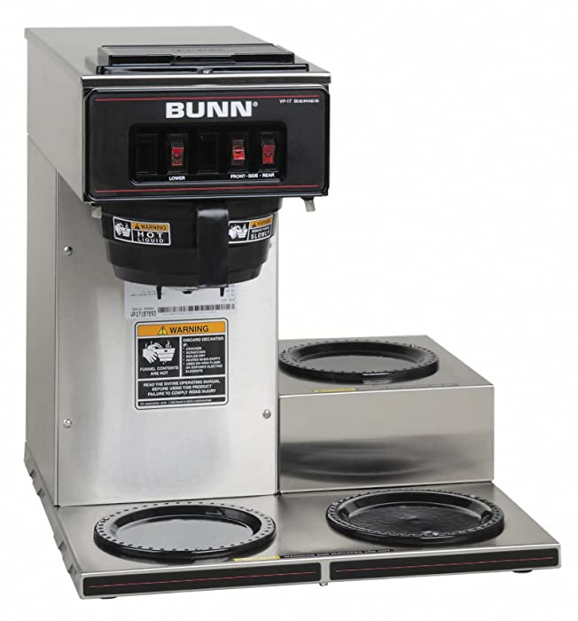 Top 10 Bunn Coffee Maker 3 Burner Automatic
