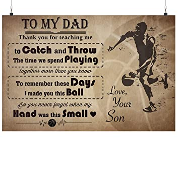 Amazon.com: Royal Decor Collection to My Dad Thank You for ...