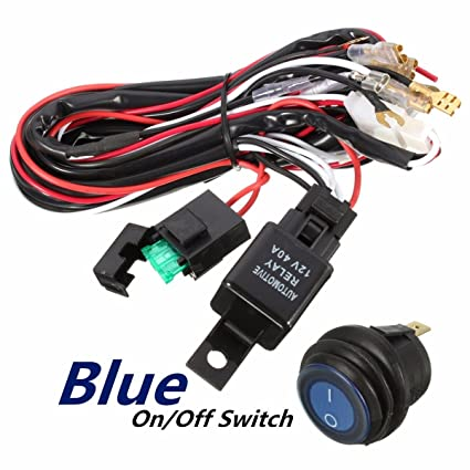 Off Road Light Wiring Harness | Wiring Diagram Air Conditioner Relay Switch Wiring Harness on