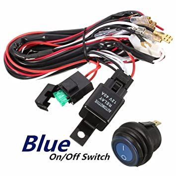 71ieff50NPL._SY355_ amazon com wiring harness,audew heavy duty wiring harness kit for  at mifinder.co
